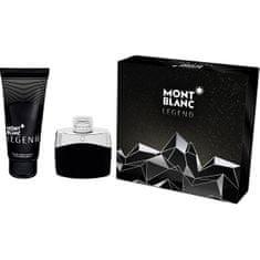 Mont Blanc Legend - EDT 50 ml + sprchový gel 100 ml