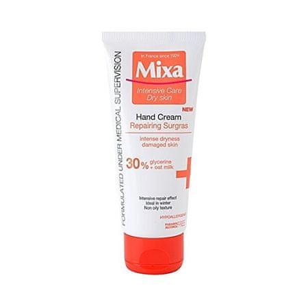 Mixa Krem regenerujący ręcznie dla bardzo suchą skórę 100 ml