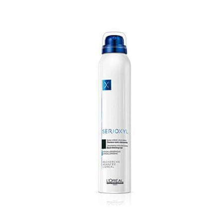 Loreal Professionnel Serioxyl Volumizing Coloured hajszínező spray ritkuló hajra (Denser Hair Spray) 200 ml (árnyalat Dark Brown)