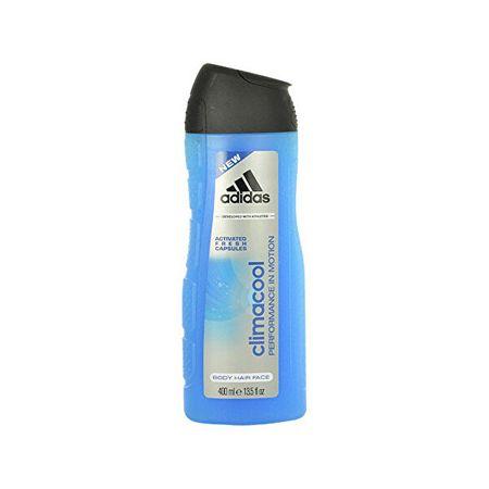 Adidas Żel pod prysznic 3 w 1 Męska CLIMACOOL (Żel pod prysznic owłosienia twarzy) (objętość 400 ml)
