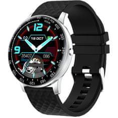 Wotchi W03S Smartwatch - Silver Black