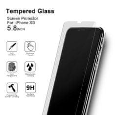 VMAX Ochranné tvrzené sklo na displej pro iPhone X, XS