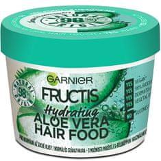 Garnier Hydratační maska pro normální až suché vlasy Fructis (Aloe Vera Hair Food) 390 ml