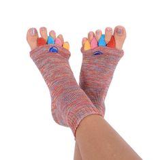 Pro nožky Adjustačné ponožky MULTICOLOR
