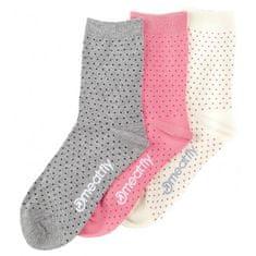 MEATFLY 3 PACK - ponožky Rainy Dots socks S19 Multipack