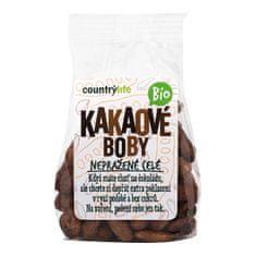 Country Life Kakaové bôby nepražené celej BIO 100 g