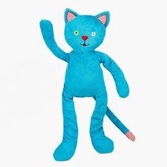 Pecičky Cherry Belly - nahřívací plyšová hračka Modrý kocour