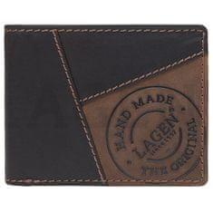 Lagen Pánska kožená peňaženka 51148 BRN