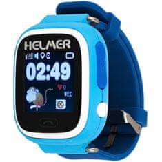 Helmer Inteligentny dotykowy zegarek z lokalizatorem GPS LK 703 niebieski