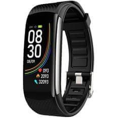Wotchi Fitness tracker s termometrom WT10B - Black