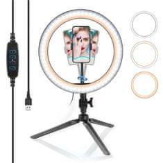 GoSport Komplet LED Ring svetlobni obroč s tripodom