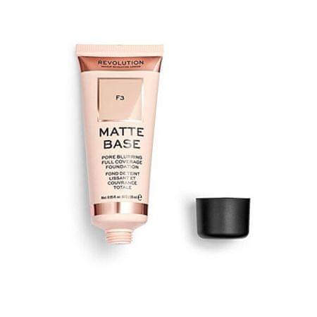 Makeup Revolution (Matte Base Foundation) 28 ml (cień F8)