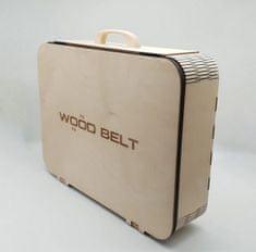 WOOD BELT Wood Belt lesen kovček