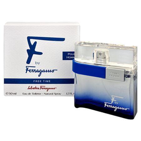 Salvatore Ferragamo F By Ferragamo Free Time - EDT 50 ml