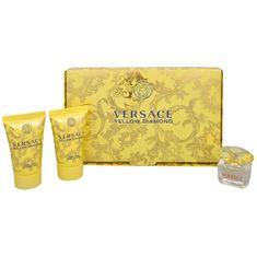 Versace Yellow Diamond - EDT 5 ml + sprchový gel 25 ml + tělové mléko 25 ml