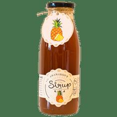 Slaskoukjidlu.cz Ananasový sirup - tekuté ovoce v lahvi