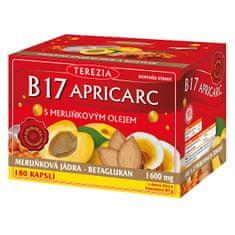 TEREZIA COMPANY B17 Apricarc s marhuľovým olejom 150 kapsúl + 30 kapsúl ZDARMA