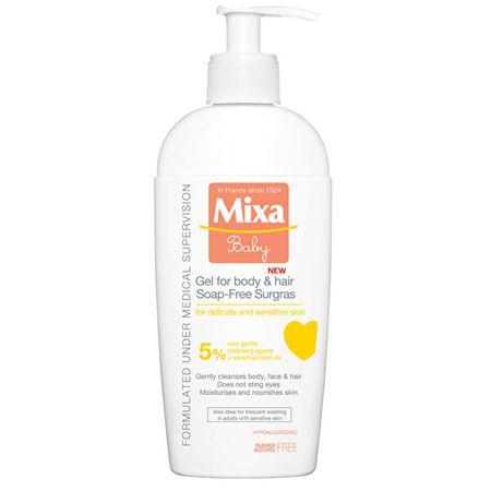 Mixa 5% extra tápláló tusfürdő és sampon gyerekeknek 250 ml