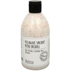 Sefiros Peelingové sprchové mléko Orchidej (Body Peeling Cleansing Milk) 500 ml