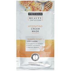 Freeman Hydratační krémová maska Manukový med a kolagen Beauty Infusion (Hydrating Cream Mask)