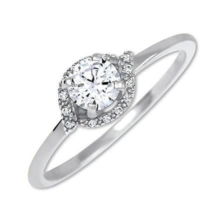 Brilio Silver Srebrni zaročni prstan 426 001 00531 04 (Obseg 53 mm) srebro 925/1000