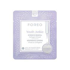 FOREO Intenzív arcmaszk ránctalanító hatássalUFO Youth Junkie (Activated Mask) 6 x 6 g