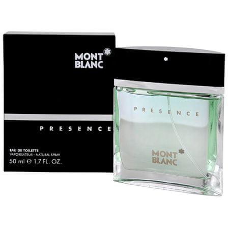 Mont Blanc Presence - woda toaletowa 75 ml