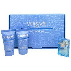 Versace Eau Fraiche Man - EDT 5 ml + sprchový gel 25 ml + balzám po holení 25 ml