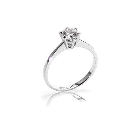 Modesi Eljegyzési gyűrű QJR1565L (Kerület 56 mm) ezüst 925/1000