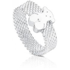Tous Strieborný prsteň s medvedíkom 010390200 striebro 925/1000