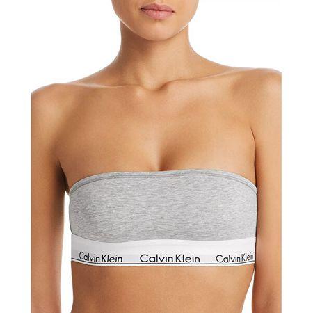Calvin Klein Biustonosz damski QF5295E Bandeau QF5295E 020 (Rozmiar L)