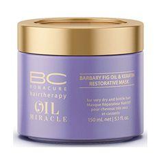 Schwarzkopf Prof. BC Bonacure ápoló hajpakolás sérült hajra (Oil Miracle Barbary Fig & Keratin Mask) 150 ml