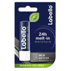 Labello Activ za moški balzam za ustnice 4,8 g