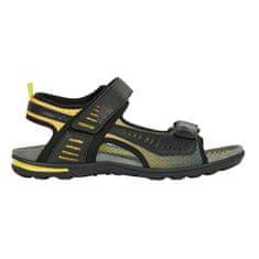 Geox Férfi szandál U Tevere Black / Yellow U029CC-0BC14-C0054