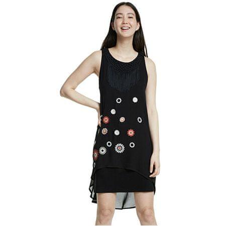 Desigual Női ruha Vest Barrie Negro 20SWVW56 2000 (méret 38)