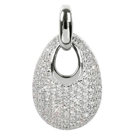Silver Cat Srebrn obesek s kristali SC107 srebro 925/1000