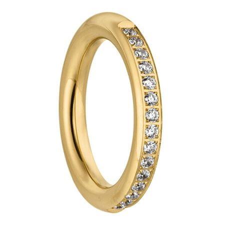 Tamaris Aranyozott gyűrű cirkónium kövekkel Emily TJ171 (Kerület 60 mm)