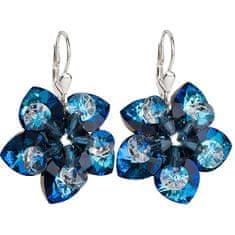 Evolution Group Náušnice kvety 31130.5 bermuda blue