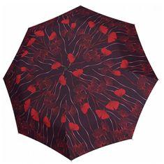 Doppler Damskiskładany parasol Carbon Magic Mini Big Romance 74665GFGR01