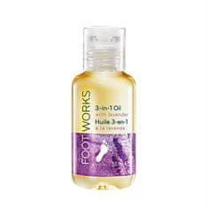 Avon Foot Works lábápoló levendulaolaj 3 az 1-ben(3 In 1 Oil With Levander) 50 ml