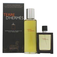 Hermès Terre D` Hermes - EDP 30 ml (plniteľná) + náplň 125 ml