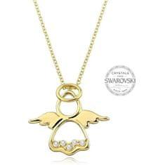 Levien Originální pozlacený náhrdelník Andělíček