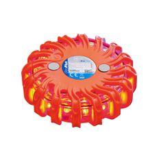 shumee ProPlus Dysk ostrzegawczy 16 LED, pomarańczowy 540322