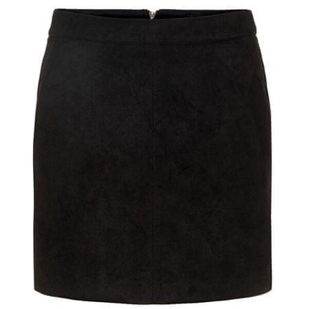 Vero Moda Žensko krilo VMDONNADINA 10210430 Black (Velikost L)