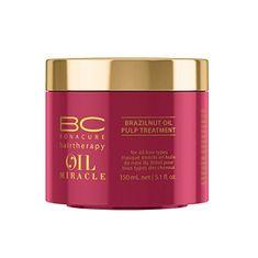 Schwarzkopf Prof. BC Bonacure Oil Miracle hidratáló és tápláló hajpakolás(Brazilnut Oil Pulp Treatment For All Hair T