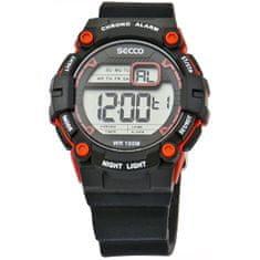 Secco Pánské digitální hodinky S DNS-006