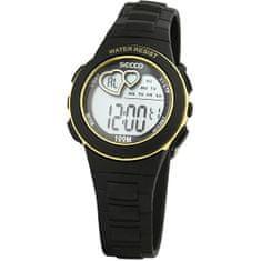 Secco Dámské digitální hodinky S DKM-008