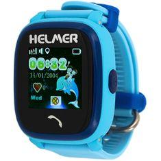 Helmer Wodoodporny zegarek Smart Touch z lokalizatorem GPS LK 704 niebieski
