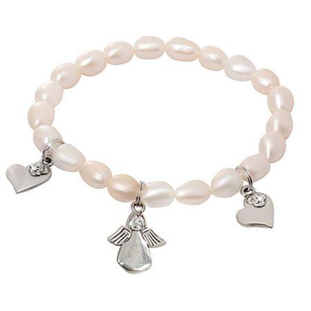 JwL Luxury Pearls Igazgyöngy karktő medálokkal JL0419