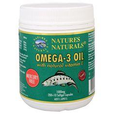 Australian Remedy Omega-3 1000 mg rybí olej 200 + 10 kapslí